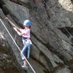 séances encadrées d'escalade sur falaise